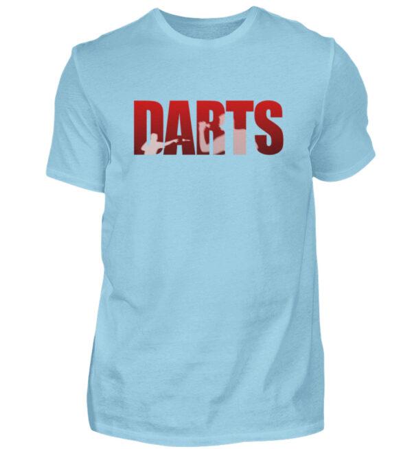 Darts - Red - Herren Shirt-674