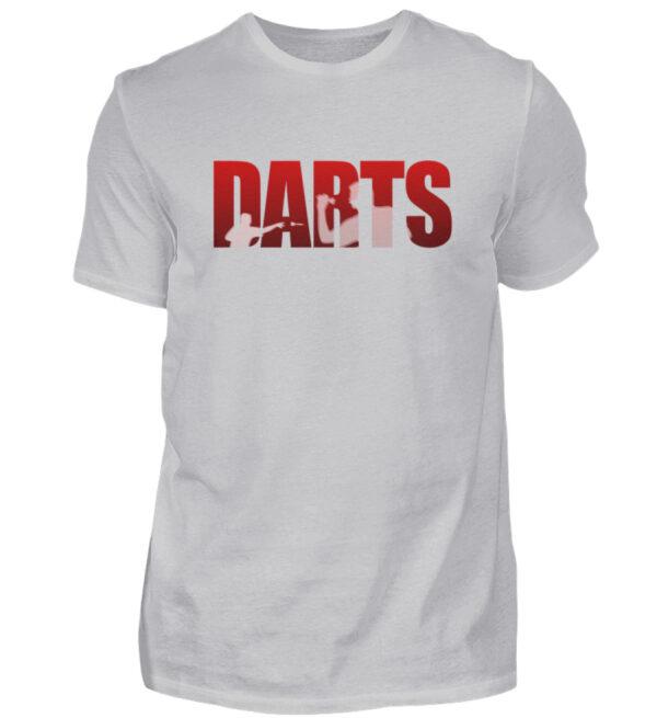 Darts - Red - Herren Shirt-17