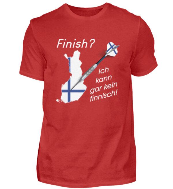 Ich kann gar kein finnisch - Herren Shirt-4