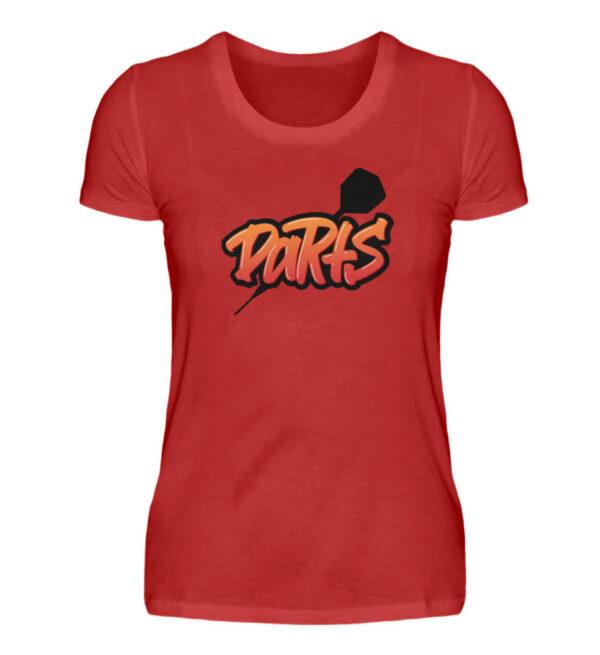 Graffiti Darts - Damen Premiumshirt-4