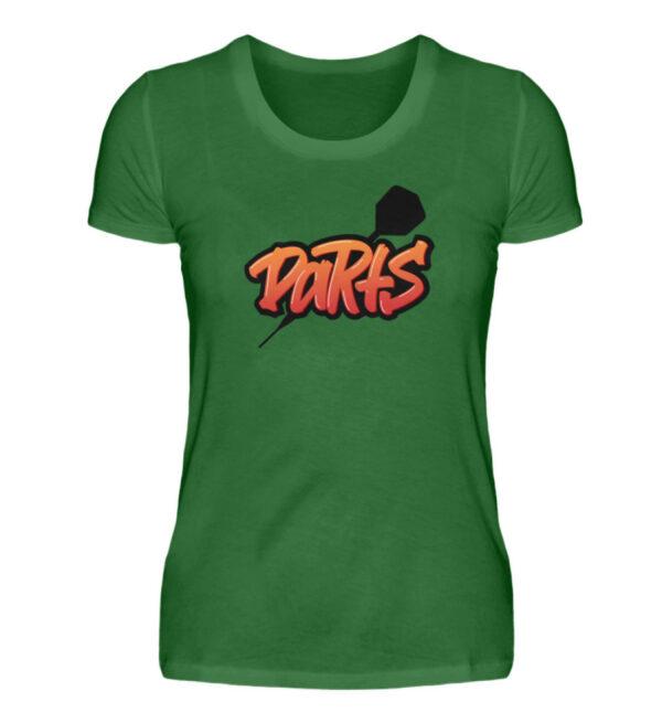 Graffiti Darts - Damen Premiumshirt-30