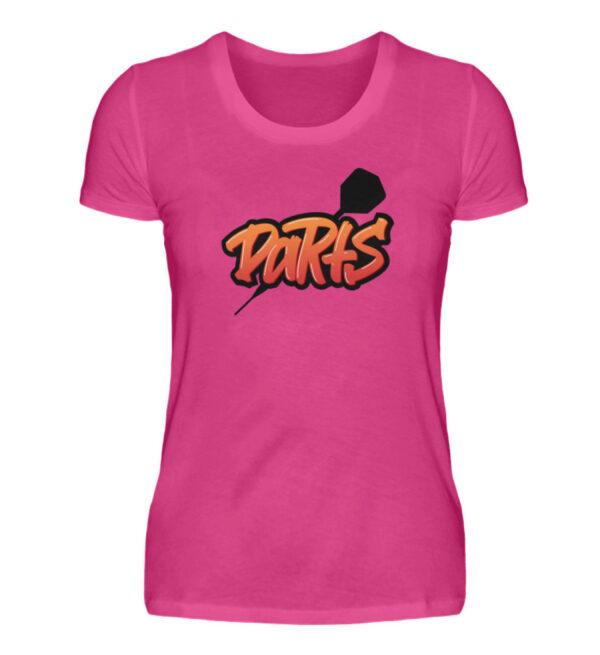 Graffiti Darts - Damen Premiumshirt-28