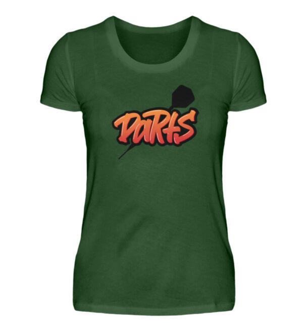Graffiti Darts - Damen Premiumshirt-2936