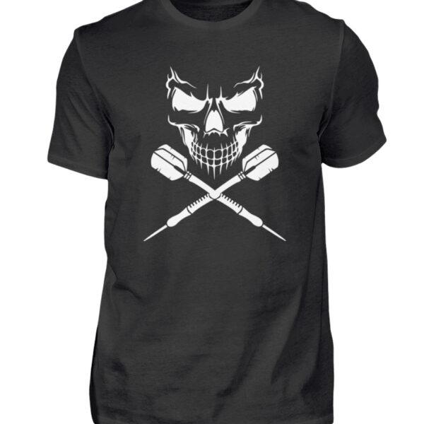 Skull Cross Darts - BlackEdition - Herren Shirt-16