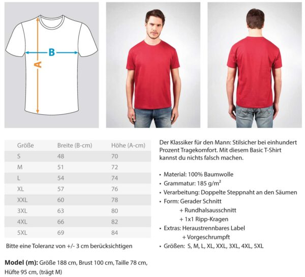 RedDartsLine - BlackEdition  - Herren Shirt