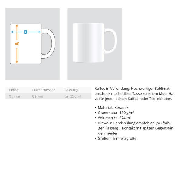 dartn.de  - Zweifarbige Tasse