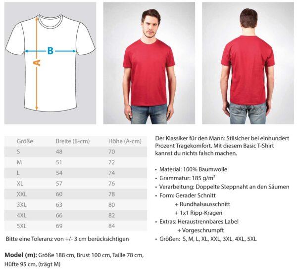 Darts - Red  - Herren Shirt