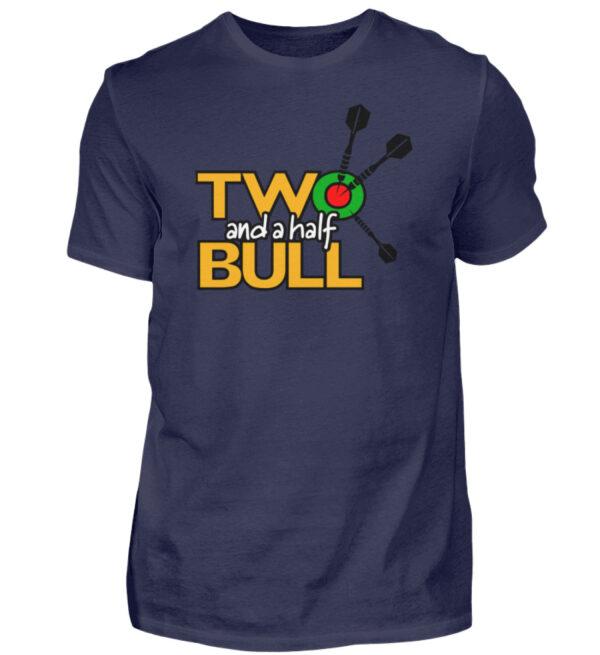 Two and a half Bull - Herren Shirt-198