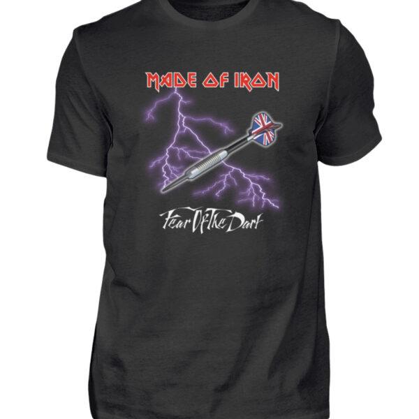 Made of Iron - BlackEdition - Herren Shirt-16