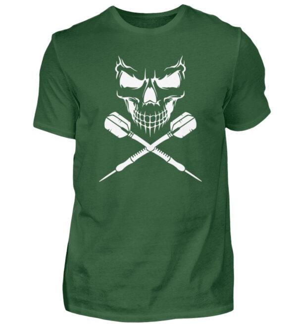 Skull Cross Darts White - Herren Shirt-833