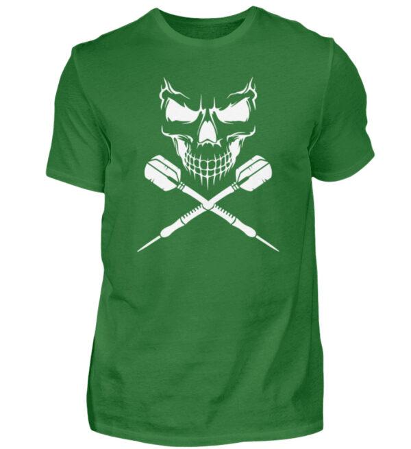 Skull Cross Darts White - Herren Shirt-718