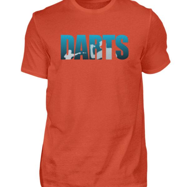 Darts - Blue - Herren Shirt-1236