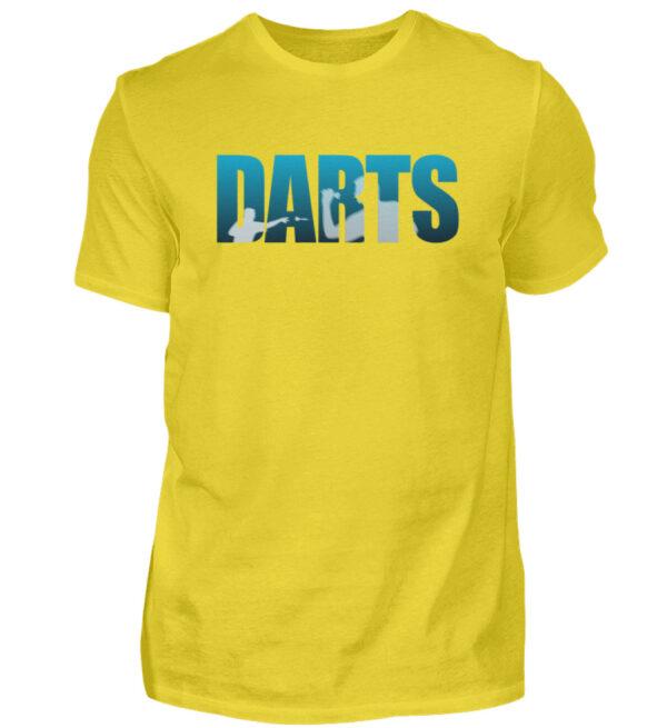 Darts - Blue - Herren Shirt-1102