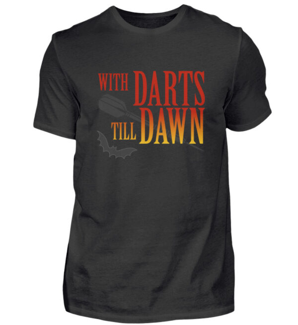 With Darts Till Dawn - BlackEdition - Herren Shirt-16