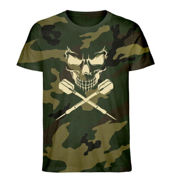 Skull Cross Darts - Camouflage Organic Shirt-6935