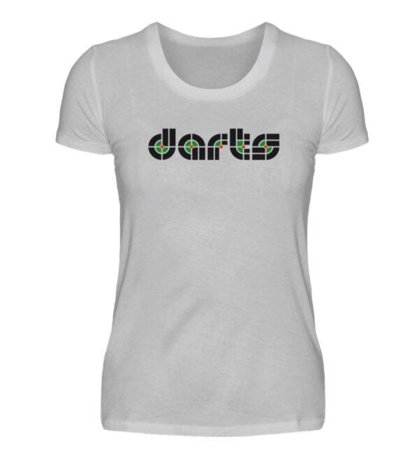 Retro Darts - Damenshirt-17