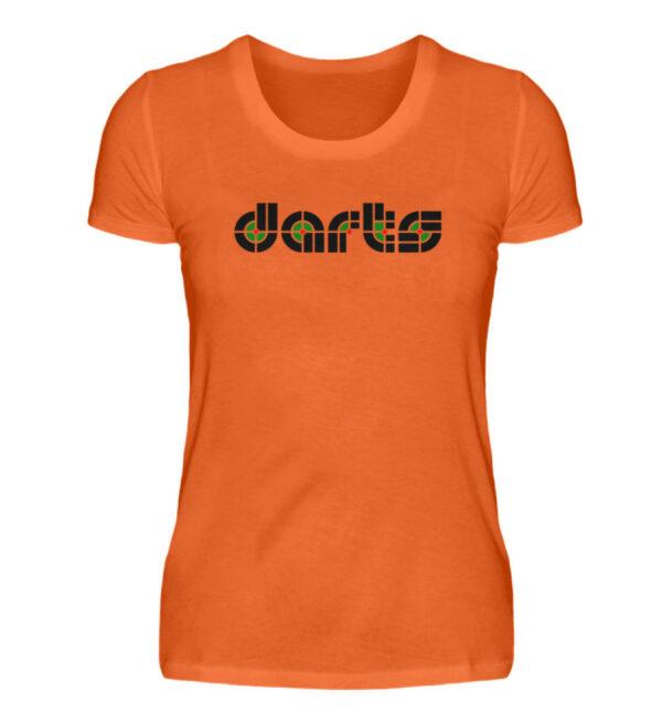 Retro Darts - Damenshirt-1692