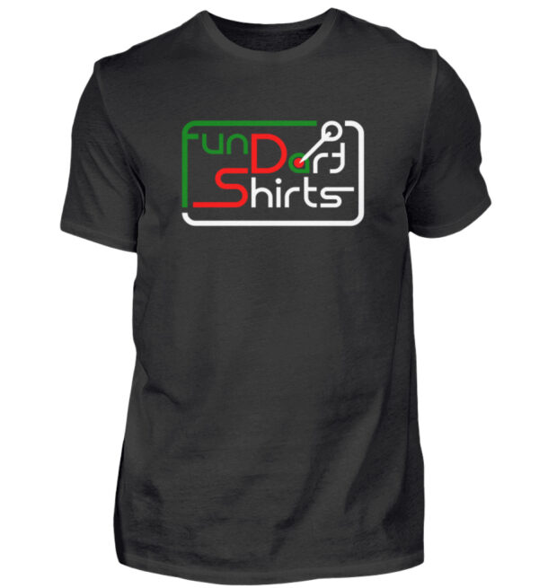 Fun Dart Shirts - Black Edition - Herren Shirt-16