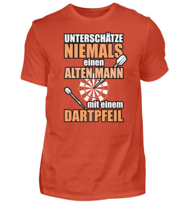 Unterschätze niemals einen alten Mann - Herren Shirt-1236