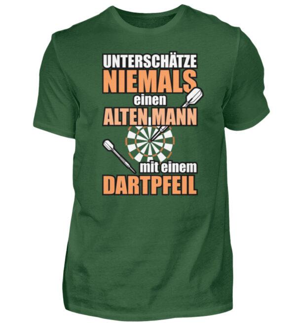 Unterschätze niemals einen alten Mann - Herren Shirt-833