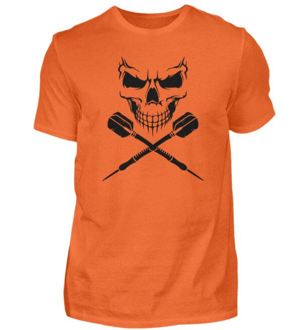 Scull Cross Darts Black - Herren Shirt-1692