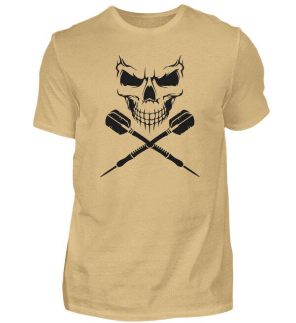 Scull Cross Darts Black - Herren Shirt-224