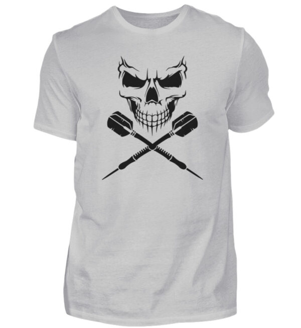 Scull Cross Darts Black - Herren Shirt-1157