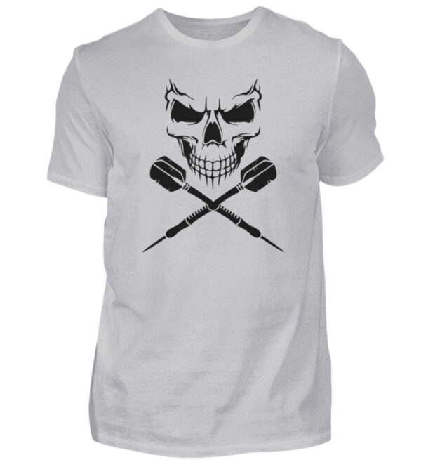 Scull Cross Darts Black - Herren Shirt-17