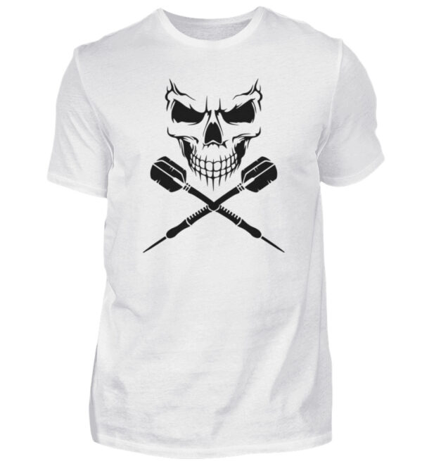 Scull Cross Darts Black - Herren Shirt-3