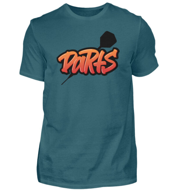 Graffiti Darts - Herren Shirt-1096
