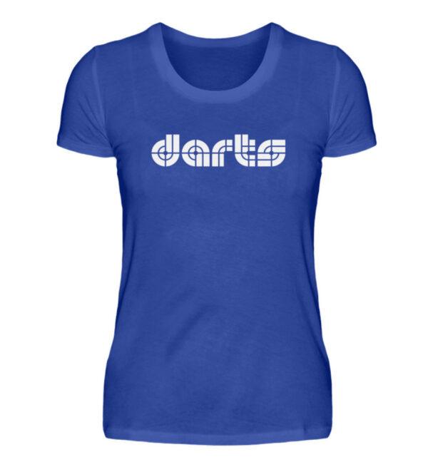 Retro Darts White - Damenshirt-2496