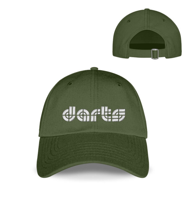 Retro - Darts - White - Baseball Cap mit Stickerei-2587