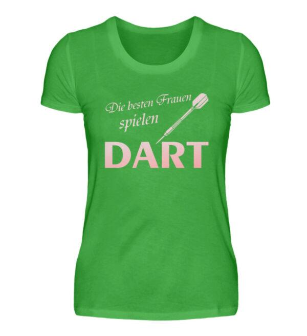 Die besten Frauen spielen Dart - Damenshirt-2468