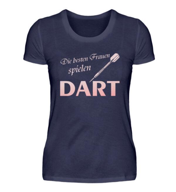 Die besten Frauen spielen Dart - Damenshirt-198