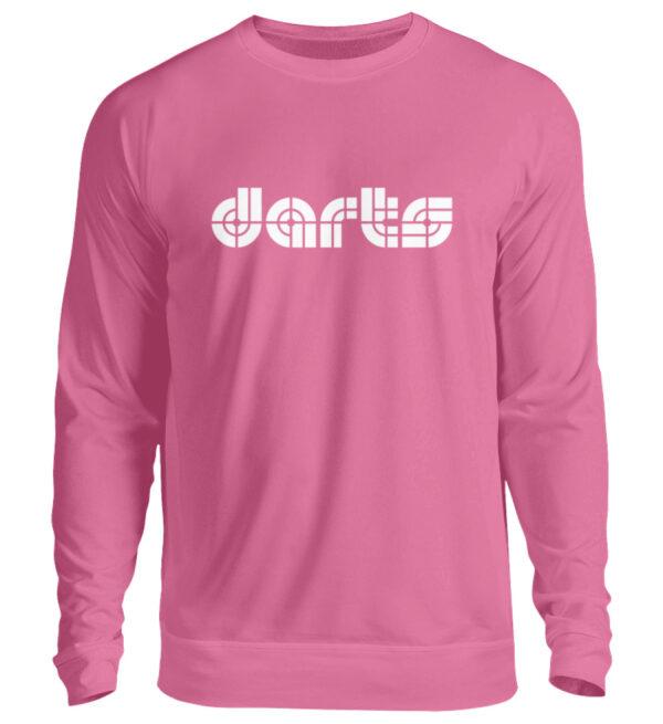 Retro Darts White - Unisex Pullover-1521