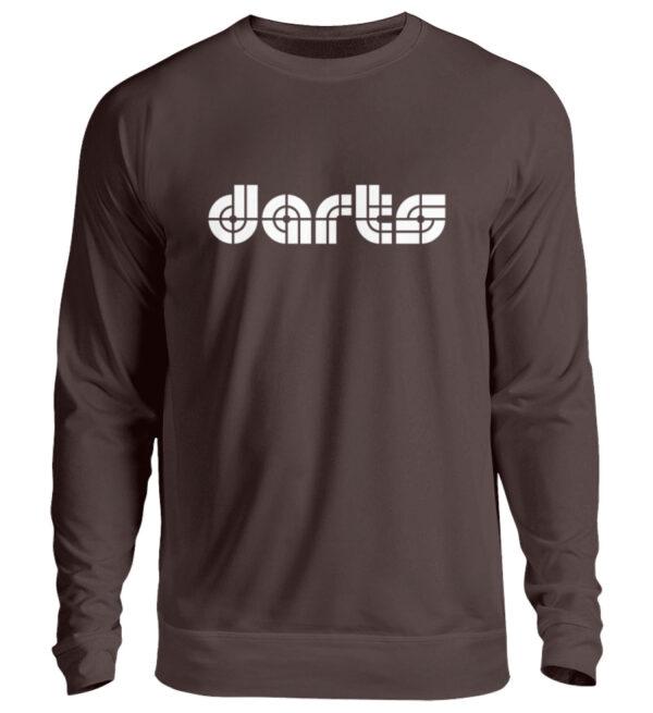 Retro Darts White - Unisex Pullover-1604