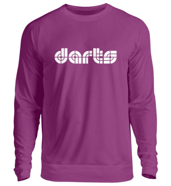 Retro Darts White - Unisex Pullover-1658