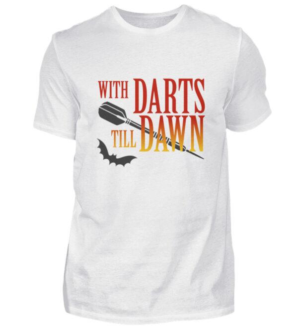 With Darts Till Dawn - Herren Shirt-3