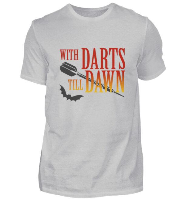 With Darts Till Dawn - Herren Shirt-1157