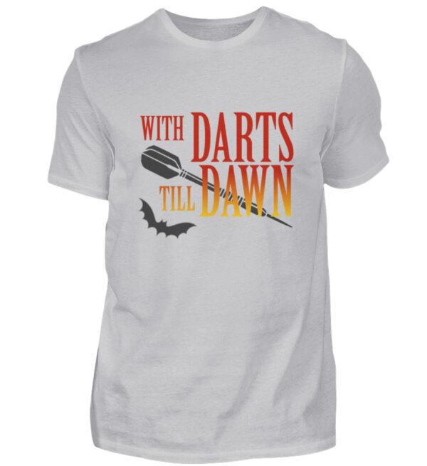 With Darts Till Dawn - Herren Shirt-17