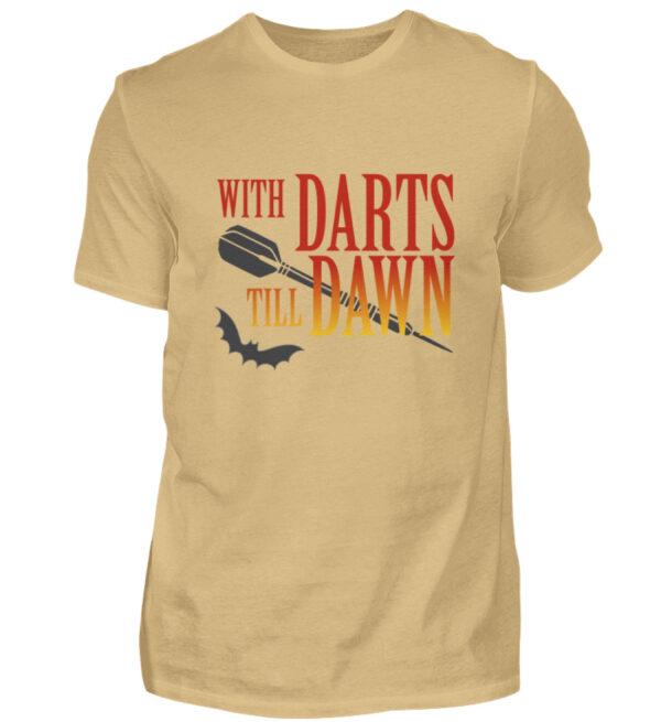 With Darts Till Dawn - Herren Shirt-224