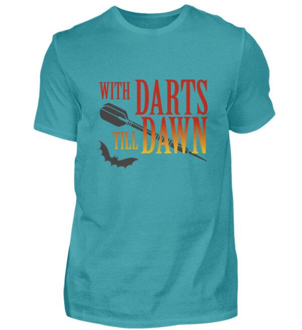 With Darts Till Dawn - Herren Shirt-1242
