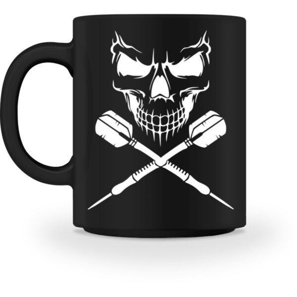 Skull Cross Darts - Tasse-16