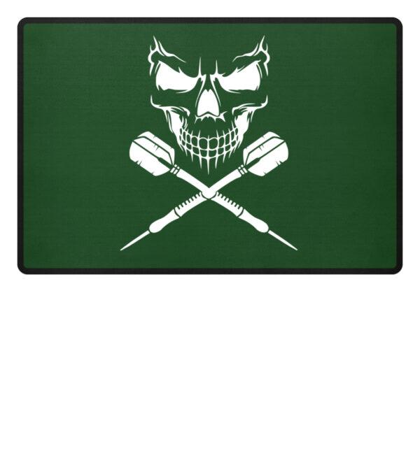 Skull Cross Darts - Fußmatte-833