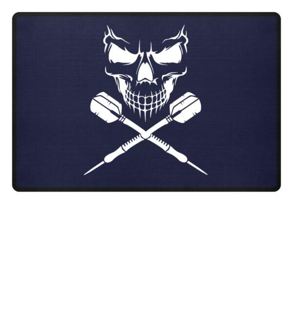 Skull Cross Darts - Fußmatte-198