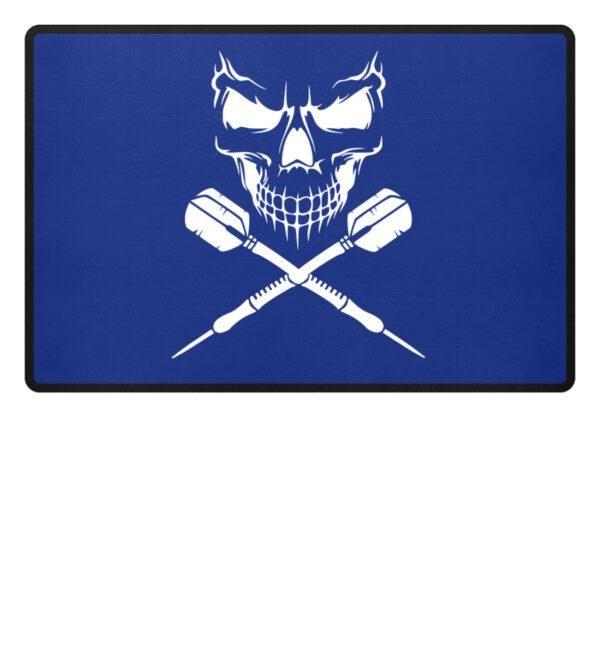 Skull Cross Darts - Fußmatte-27