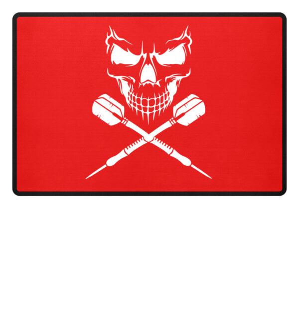 Skull Cross Darts - Fußmatte-5761