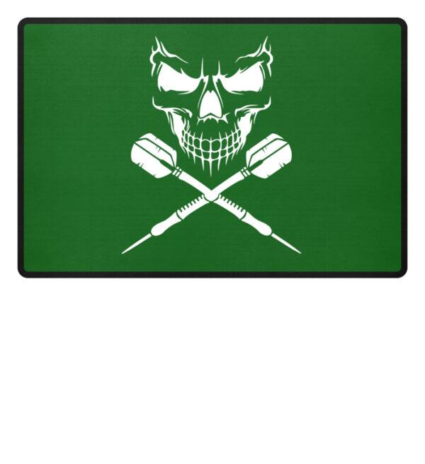 Skull Cross Darts - Fußmatte-718