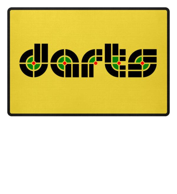 Retro Darts - Fußmatte-5766