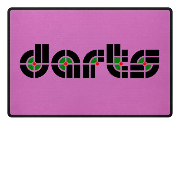 Retro Darts - Fußmatte-5759
